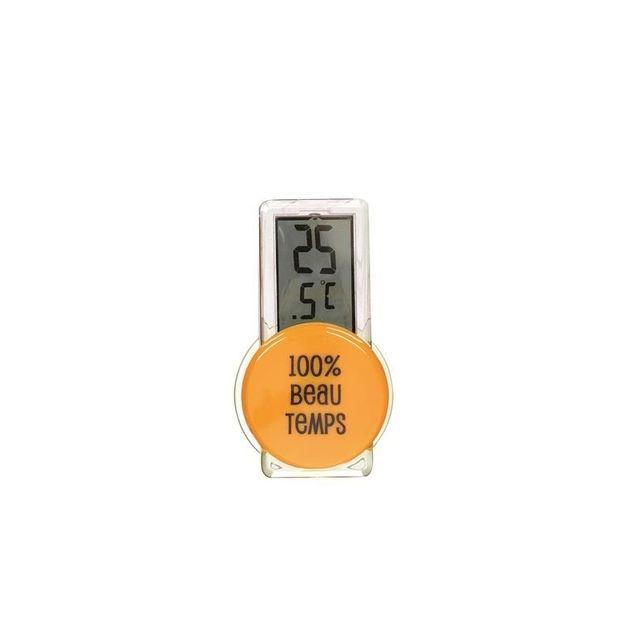 Thermomètre extérieur - Orange