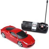 Maisto Tech - Ferrari Voiture Radiocommandé Echelle 1-24 Rouge
