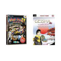 Mindscape - Pack 2 Jeux : Mah Jong Quest 2 + Geisha Le Jardin Secret - Jeu Pc