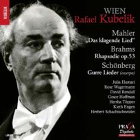Praga Digitals - Rafael Kubelik - Oeuvres de Mahler, Brahms & Schoenberg Boitier cristal