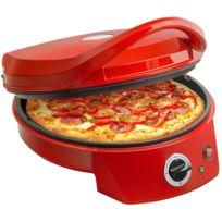 BESTRON - Four à pizza 180°C max. Ø 27cm Thermostat 1800W