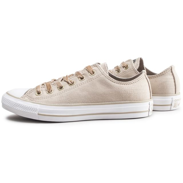 Baskets Converse Chuck Taylor All Star low Beige
