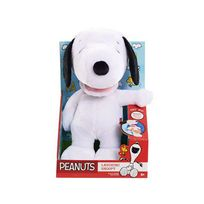 Imc Toys - Peluche - Peanuts peluche sonore Laughing Snoopy 28 cm