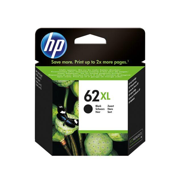 HP C2P05AE - Cartouche d'encre 62XL Noir HP 62XL Cartouche d'encre Noir grande capacité authentique pour HP Envy 5540/5545/5547/5640 e-AiO/7640 e-AiO, HP Officejet 5740 e-AiO, HP Officejet 200/250