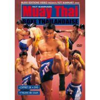 Budo Editions - Muay Thai boxe thaïlandaise coffret de 4 Dvd