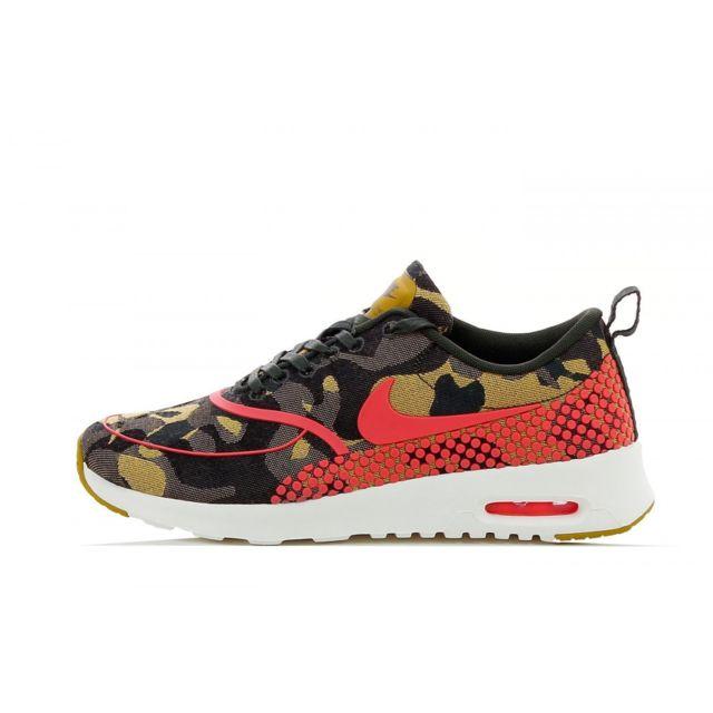 Nike - Basket Air Max Thea Jacquard Premium - 807385-200 Gris - 38 1/2 - pas cher Achat / Vente Baskets femme - RueDuCommerce