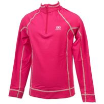 Damart Sport - Sous vêtements thermiques chaud Thermo rse 1/2z tee ml g Rose 26272