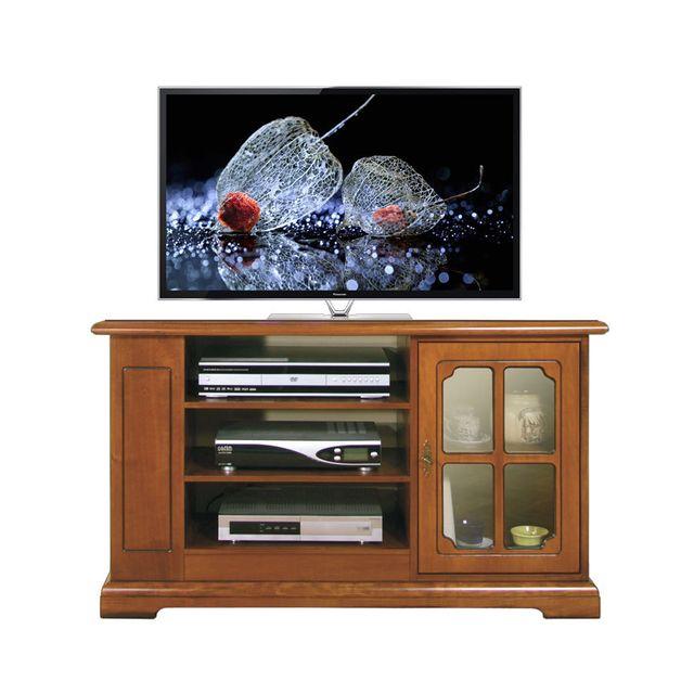 Arteferretto Porta Tv.Arteferretto Meuble Tv De Style Avec Porte Vitree Pas