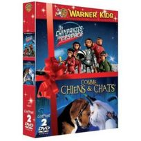 Dvd - Les Chimpanzes De L'espace + Comme Chiens Et Chats