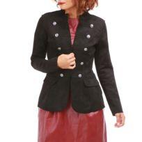 Manteau officier femme kaki