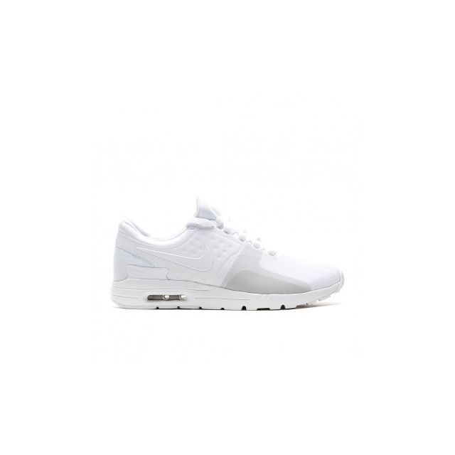 online retailer 88bf8 dff08 Nike - W Air Max Zero - 857661-104 - Age - Adulte, Couleur - Blanc, Genre -  Femme, Taille - 37,5 - pas cher Achat   Vente Chaussures basket -  RueDuCommerce