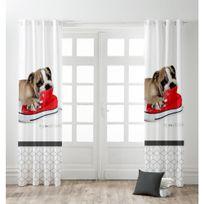 La Maison D'AMELIE - Rideau Oeillets 140x240 Doggy
