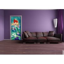 Bebegavroche - Poster porte Ariel Princesse Disney 90X202 Cm