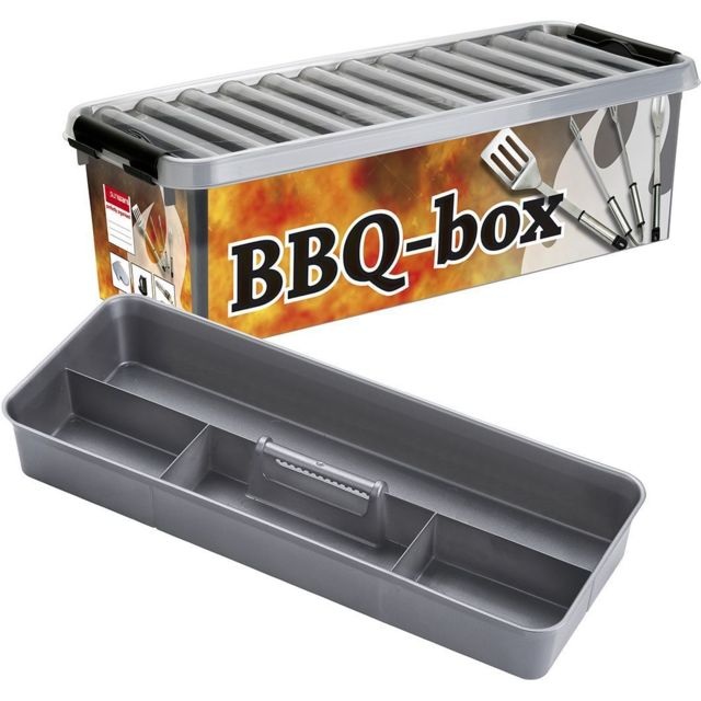 pas cher pour réduction 37282 9774a Boite Q-line BBQ-Box avec insert compartimenté