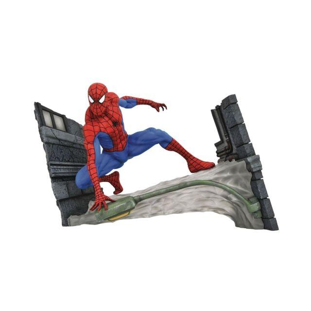 Diamond Select Toys Marvel Comic Gallery - Statuette Spider-Man Webbing 18 cm