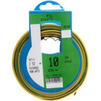 Profiplast - Prp500220 Couronne de câble 10 m Ho7V-U 2.5 mm2 Vert et Jaune