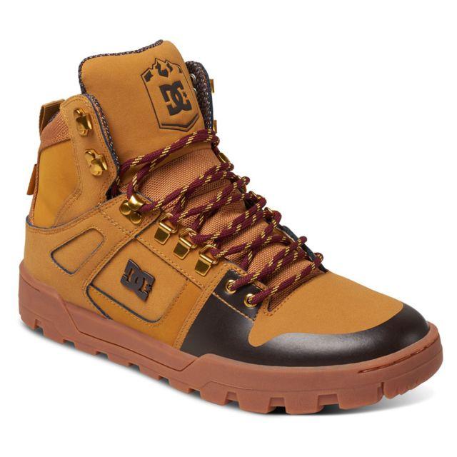 Dc - Shoes Spartan High Chaussure Homme - Taille 40.5 - Beige - pas ... d94d5e901771