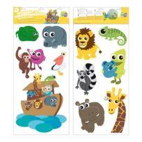 MiKidi - 370183 - Stickers Repositionnables - Arche De NoÉ