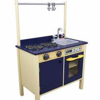Teamson Kids - Cuisine en bois - bleu