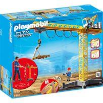 Playmobil - Grande grue de chantier radio-commandée - 5466