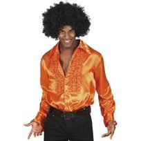 Boland - Chemise Disco Orange - Homme
