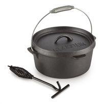 KLARSTEIN - Hotrod 85 Cocotte pour BBQ 9qt / 8,5 litres Fonte - noir