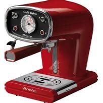 ARIETE - machine à expresso 15 bars rouge - 1388r