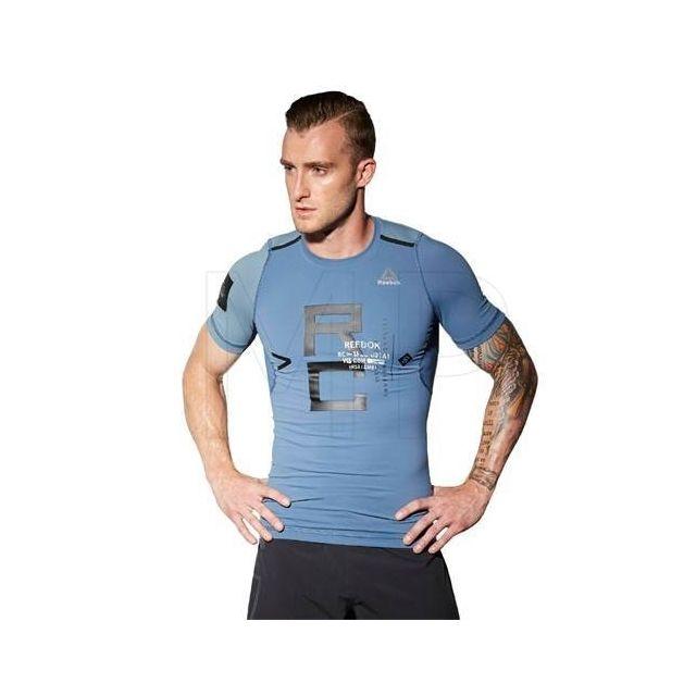 71c5fb268774 Reebok - T-shirt Crossfit compression M - pas cher Achat / Vente  Survêtement homme - RueDuCommerce