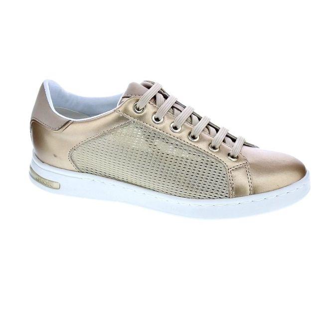 10023ae97f2b3 Geox - Chaussures Femme Baskets basses modele Jaysen - pas cher Achat   Vente  Baskets femme - RueDuCommerce