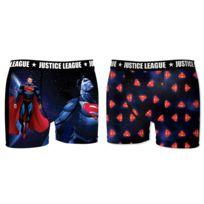 Dc Comics - Lot de 2 boxers Homme Justice League