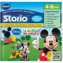 Vtech - Jeu Storio - La Maison de Mickey - 230405