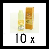 Pulp - Lot 10 e-liquides Tabac Tennesse Blend 18mg soit 4,90 euros le flacon 10ml