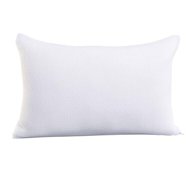 oreiller à mémoire de forme carrefour TEX HOME   Oreiller Mémoire de forme en polyester   pas cher Achat  oreiller à mémoire de forme carrefour