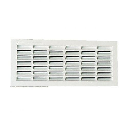 nicoll grille d 39 a ration visser ou coller classique rectangulaire extra plate blanc 1pb101. Black Bedroom Furniture Sets. Home Design Ideas