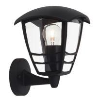Eglo laterna borne d 39 ext rieur noir h100cm luminaire for Alinea luminaire exterieur