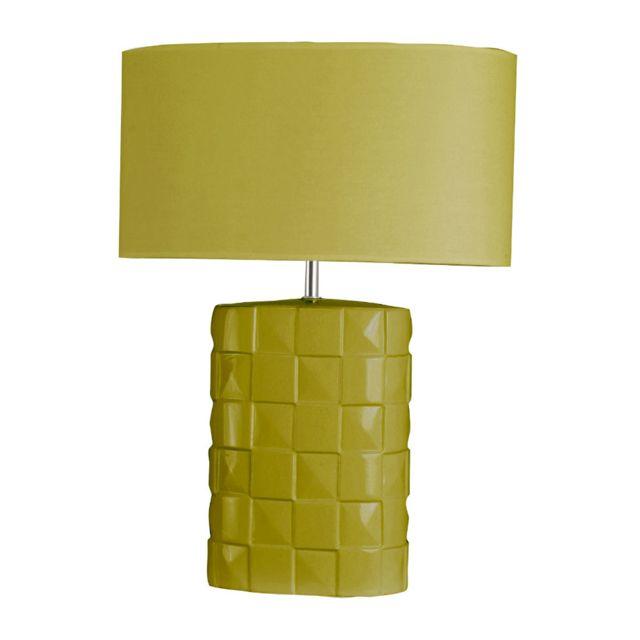 Sampa À H52cm Helios Poser Damier Lampe Vert hQrdtsC