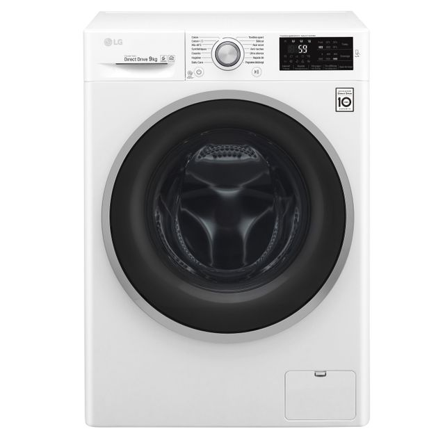 LG Lave-linge - F94J61WH - Blanc