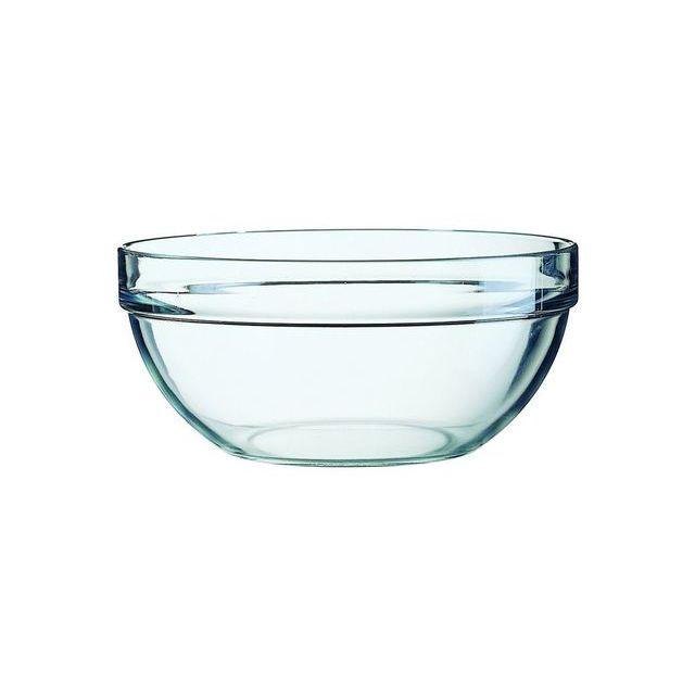 arcoroc saladier en verre empilable 23cm saladier empilable pas cher achat vente le. Black Bedroom Furniture Sets. Home Design Ideas
