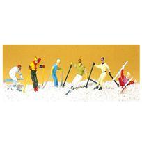 Preiser - Modélisme Ho : Figurines : Skieurs - Ski alpin