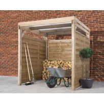 Dedans Dehors - Carport en bois 2 x 2 Montage Rapide