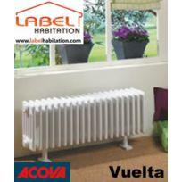 Acova - Radiateur fluide caloporteur électrique - Vuelta - Plinthe 1000W