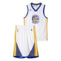 Adidas performance - Golden State Warriors Curry Blanc Ensemble Club Nba Enfant Basketball