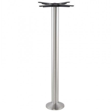 TECHNEB Pied de table VERON rond en métal 33cmX33cmX110cm