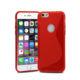 Lapinette - Coque Gel Vague S Pour Apple Iphone 8 Plus - Rouge