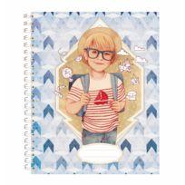 Avenue Mandarine - Cahier de texte : Des étoiles plein les yeux : bleu