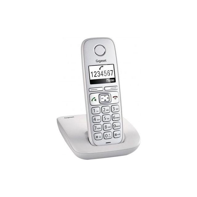 Gigaset - E310 téléphone sans fil dect - pas cher Achat   Vente ... 368e636f6696