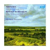Crd - rimski-korsakov : quintette pour piano en si bémol majeur - arensky : trio en ré mineur