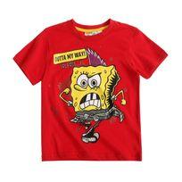 Bob L'EPONGE - Bob L'éponge Garcon Tee-shirt