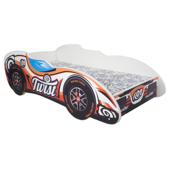 Other Lit pour un enfant - F1 - Twist Car MATELAS Gratuit 140 x 70 cm