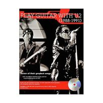 Music Sales - Partition : U2 Play Guitar with 1988-1991 Cd